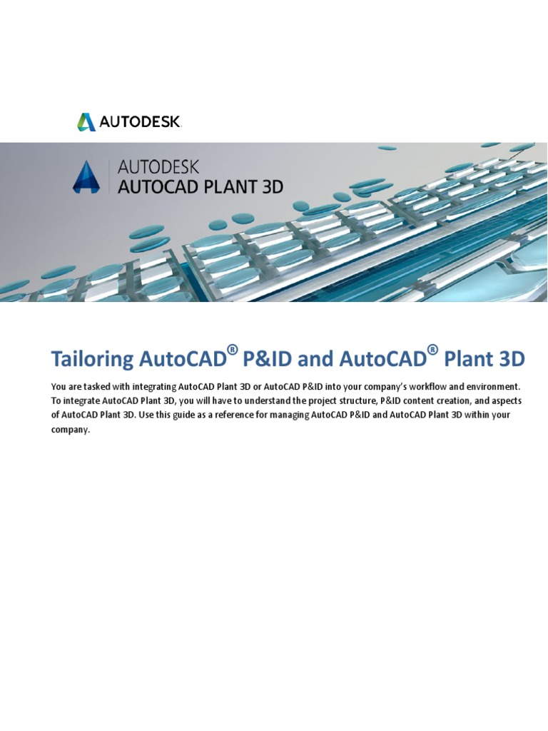 Tailoring AutoCAD P&ID and Plant 3D | Microsoft Sql Server | Databases