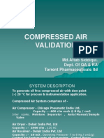Compressed Air Validation