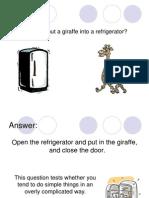 EDUC 604 - Braintest - Refrigerator