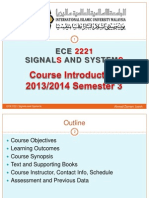 00 Course Introduction Signal & System
