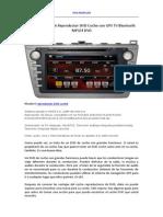 Un Gran Mazda 6 Reproductor DVD Coche Con GPS TV Bluetooth MP34 DVD