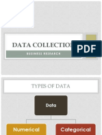 Data Collection -- Primary & Secondary