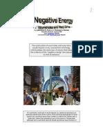 Negative Energy-WormHoles & Warp Drive