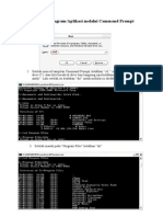 Mem Buka Program melalu i Command Prompt