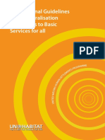 International Guidelines on Decentralization and Access to Basic Services for All