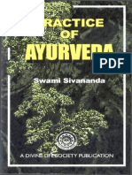 A Swami Practice of Ayurveda