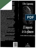 El Imperio de Lo Efimero Pml1