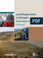 Land Registration in Ethiopia- Early Impacts on Women
