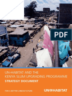 UN-HABITAT and the Kenya Slum Upgrading Programme - Strategy Document