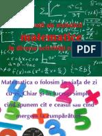 Aplicaţii ale statisticii matematica în diverse activităţi cotidiene