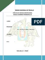 Universidad Nacional de Trujillo Nº1