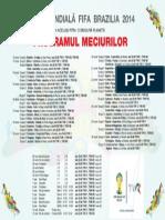 Program Meciuri Cm Brazilia 2014 de La Laur 88018600