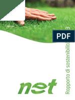 Net Spa - Rapporto di sostenibilità