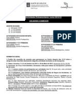 Ficha Info Actividades Comedor