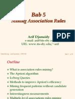 Bab 05 - Association Mining