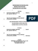 Bcm Development Sdn Bhd v the Titular Roman Catholic Bishop of Malacca Johor