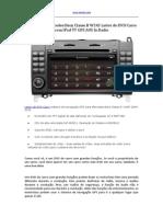 2004-2012 Mercedes Benz Classe B W245 Leitor de DVD Carro Com iPod TV GPS AUX in Radio