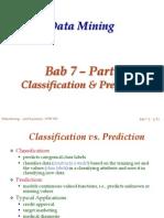 Bab 07 - Class & Predict - Part 1.ppt