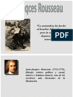 Visión de Hombre Según Rousseau