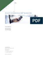SAP Account Determination