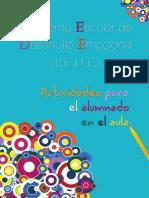 Actividades Para El Alumnado en El Aula (PEDE)