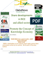 8th July,2014 Daily Global Rice E-Newsletter by Riceplus Magazine