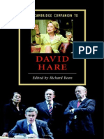 [Richard Boon] the Cambridge Companion to David Hare
