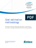 Cost Estimation Methodology