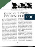 Insegene e Stemmi Dei Rioni Di Roma