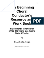 47542788 the Beginning Choral Conductor Student
