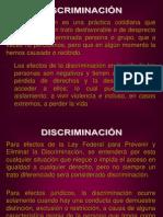 Discrimi Nacion