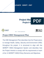 PM- HSE Plan Session 6
