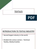 Textiles Science