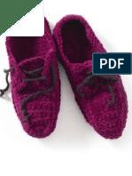 Crochet Oxford Slippers FREE PATTERN