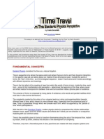 Time Travel From the Esoteric Physics Perspective-part 1