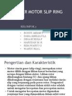 Starting Motor Slip Ring