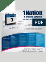 Amway Fixed Training Calendar
