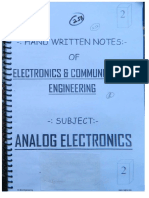 2.Analog Electronics