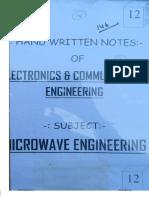 12.Microwave Engineering