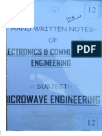 12.Microwave Engineering