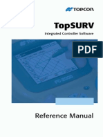 TopSURV Reference Manual