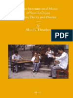 Chinese Music--Sizhu Instrumental Music of South China Ethos Theory and Practice[1]