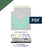Butterfan Purse Crochet Pattern