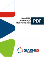 Manual de Atribuicoes e Responsabilidades SIARHES