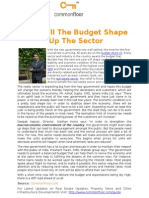 How Will the Budget Shape Up the Sector