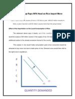 Case Study in Microeconomics