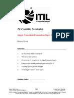 Example Exam APMG 2