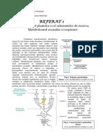 Metabolismul Plantelor Si Al Substantelor de Rezerva