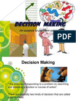 report on Decision Making