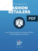 How to Get your Brand in the Hands of Editors, Fashion Bloggers & Celebrities – PR Handbook for Fashion Retailers